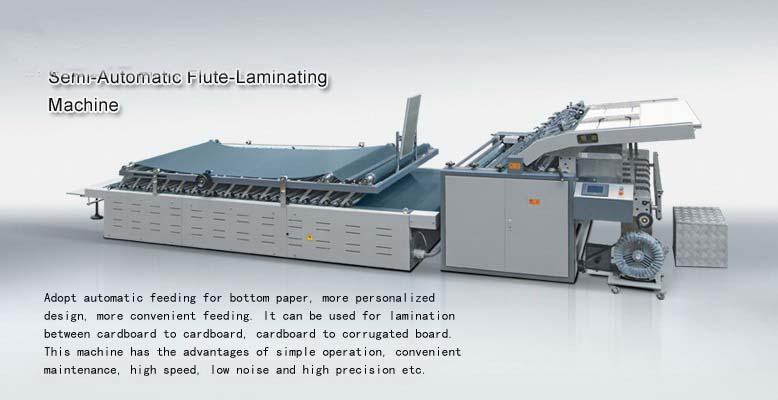 Semi-Automatic Flute Laminator