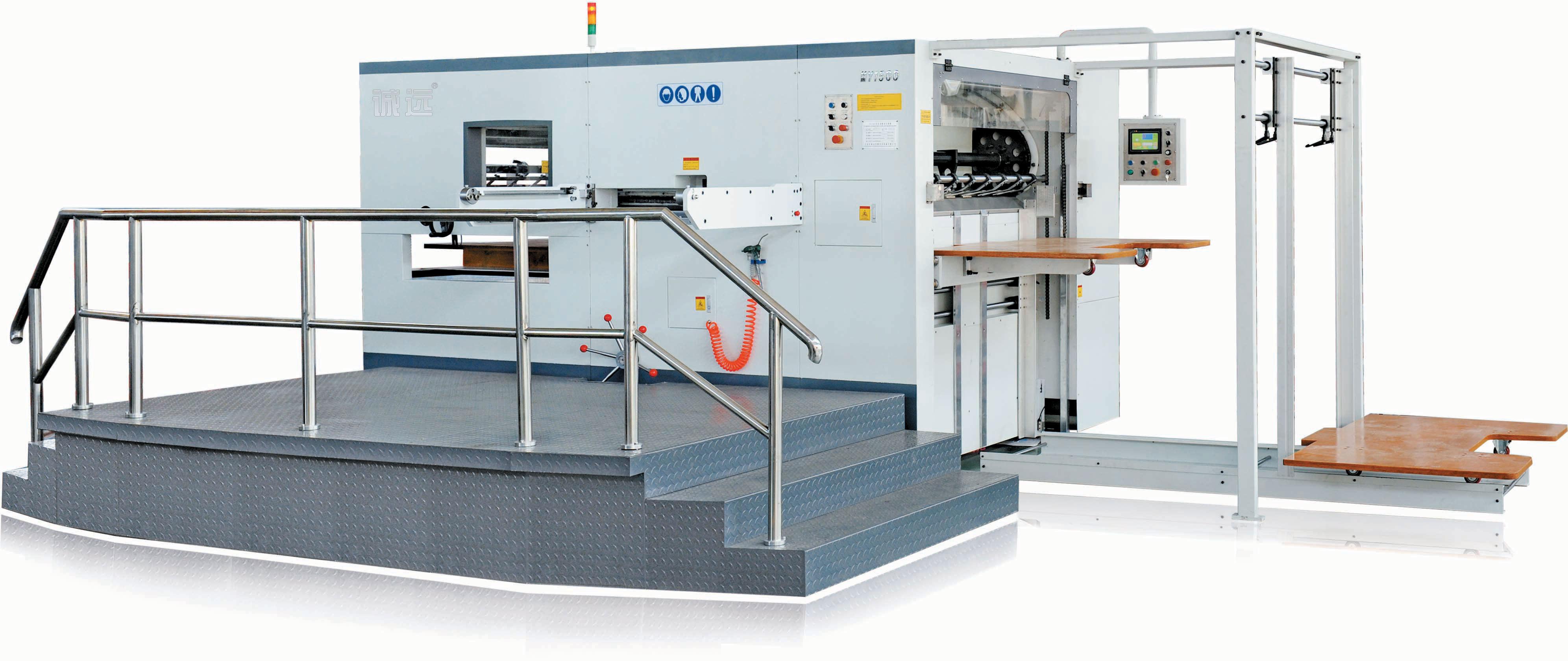 Semi-Automatic Flat Bed Die-Cutting Machine
