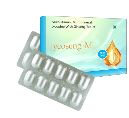 Multivitamin,  Multimineral Tablets with Lycopene & Ginseng Tablets