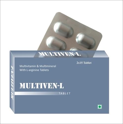 Multivitamin, Multimineral With L-Arginine Tablets