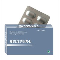 Multivitamin, Multimineral With L-Arginine Tablets