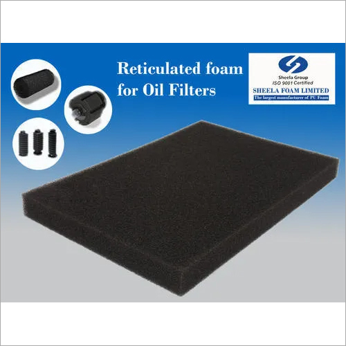 Oil Filters Reticulated Foam
