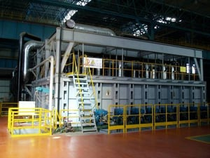 Natural Gas Rolling Steel Heating Furnace