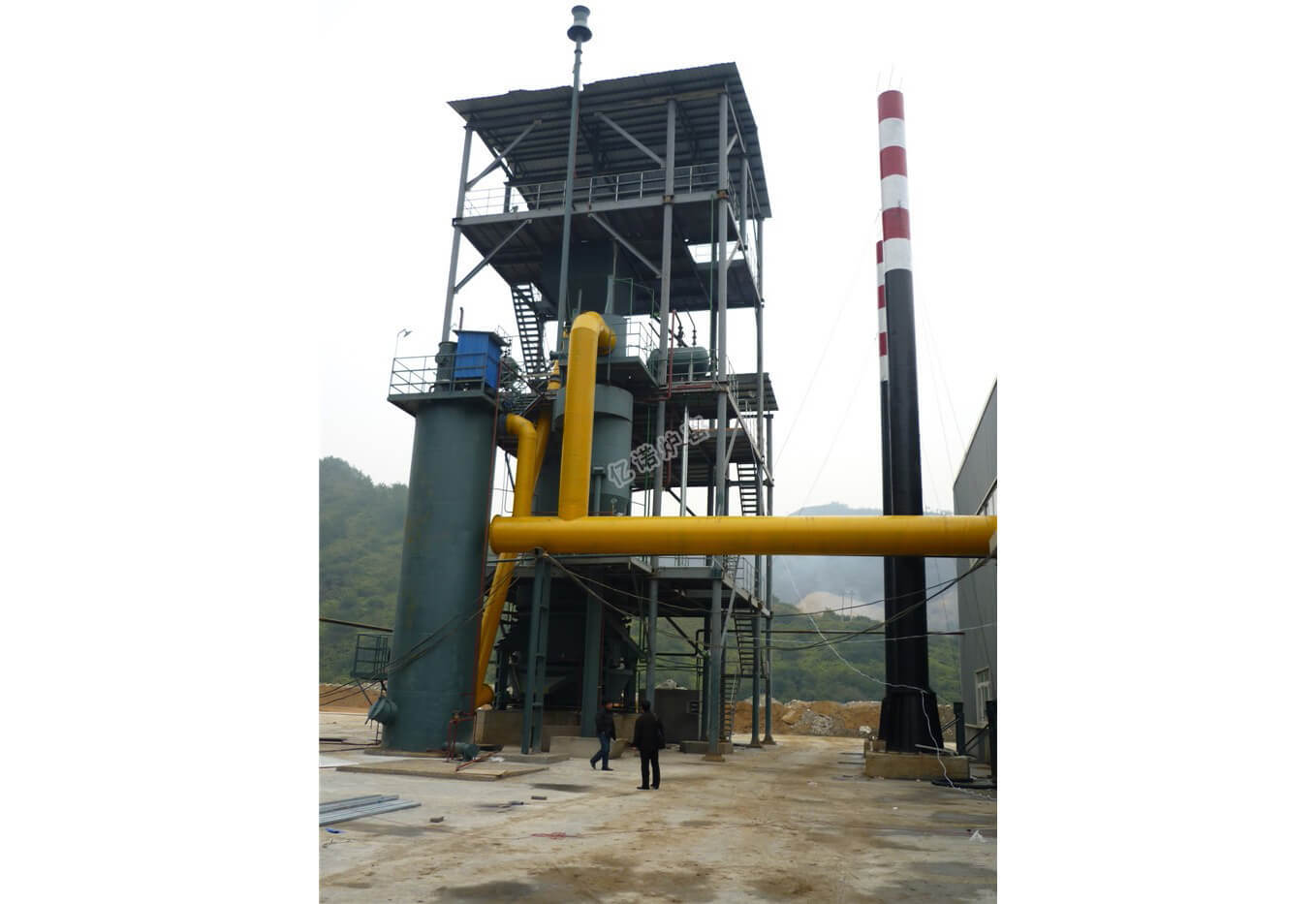 Two Stage Gas Generator
