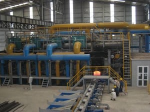 Induction Heater Regenerative Pulsed Natural Gas Heating Furnace