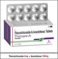 Thiocolchicoside 4mg + Aceclofenac 100mg + Paracetamol 325 mg