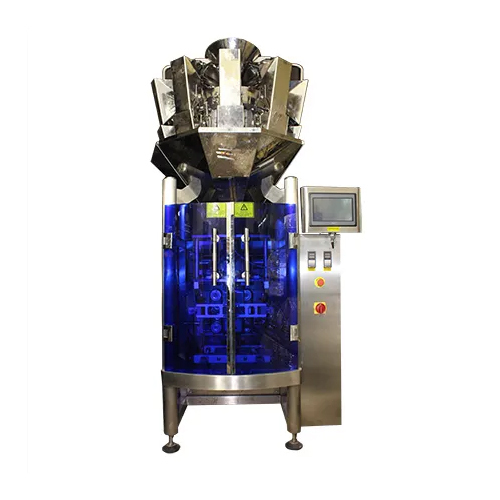 Collar Type wtih Multi Head Weigh Filler Machine