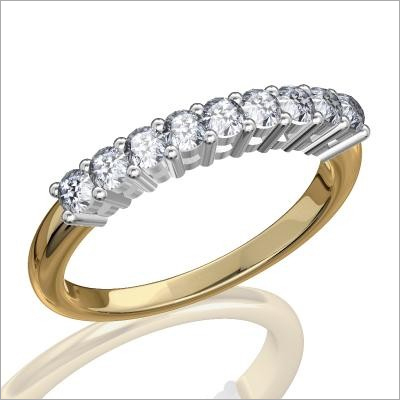 High Quality Stone Platinum Ring