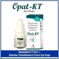 Olopatadine  0.1% w/v +Ketorolac Tromethamine