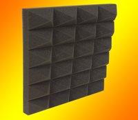 Sound Absorption Pyramid Foam