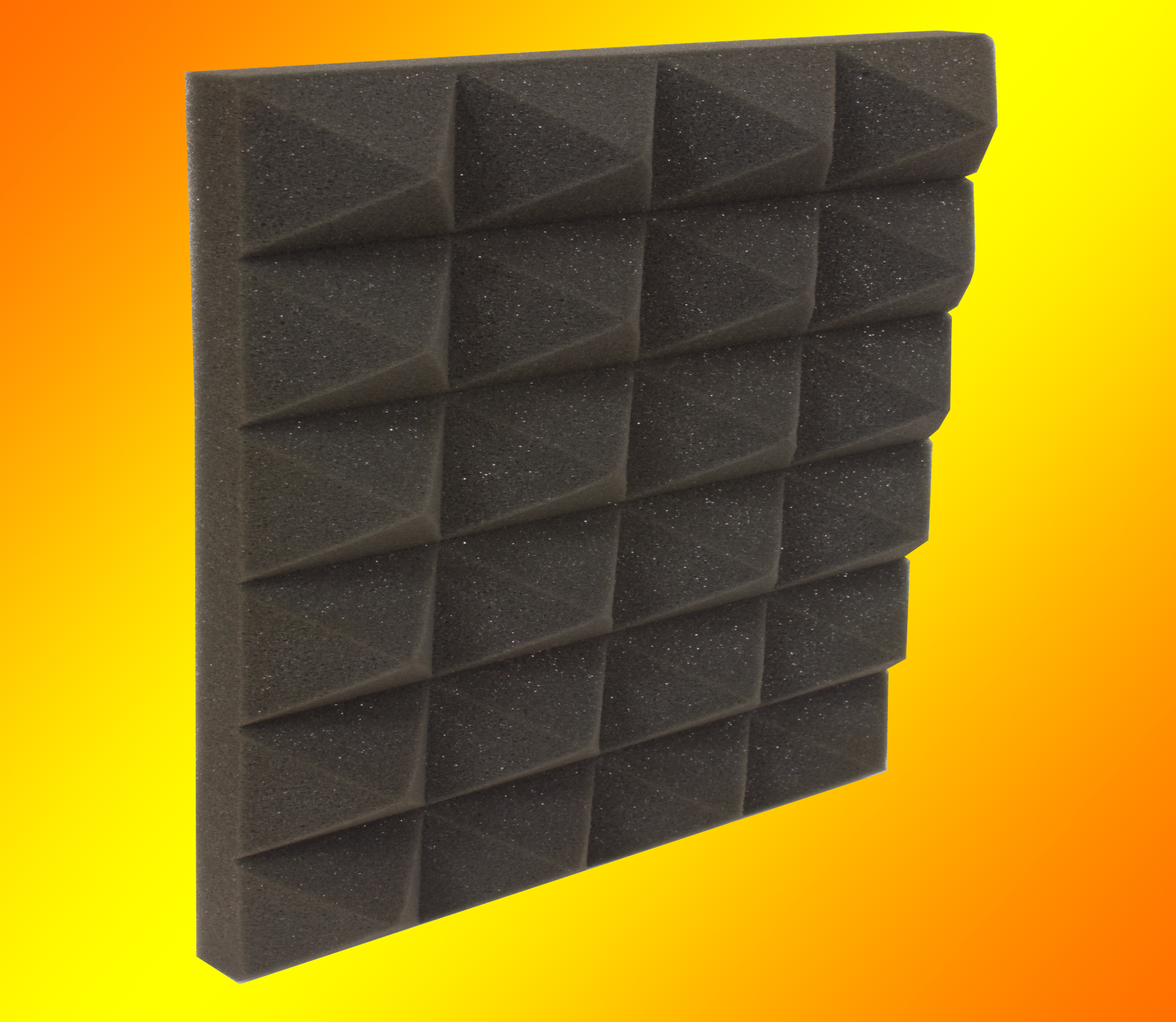 Sound Absorption Pyramid Foam