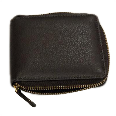 Ladies Black Leather Hand Purse