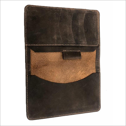 Leather Passport Bag