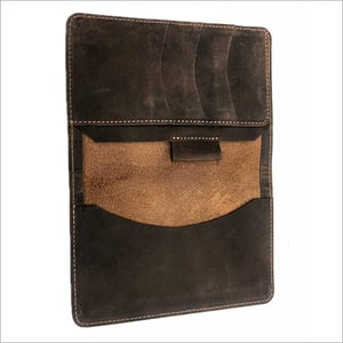 Unisex Leather Passport Holder