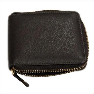 Ladies Black Leather Hand Purse