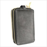Leather Keychain Pouch And Card Holder