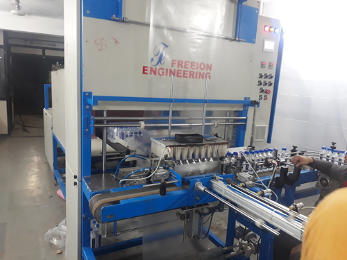 fully auto shrink wrappaing machine