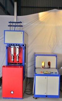 2 Cavity Auto Drop Pet Blow Molding Machine