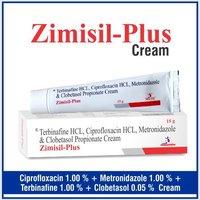 Ciprofloxacin + Metronidazole + Terbinafine + Clobetasol + Methylparaben + Propylparaben