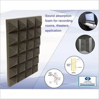 Red Polyurethane Acoustic Foam Grade CA117