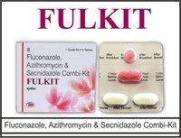 Fluconazole 150 mg. + Azithromycin  1gr. +  Secnidazole  1gr.