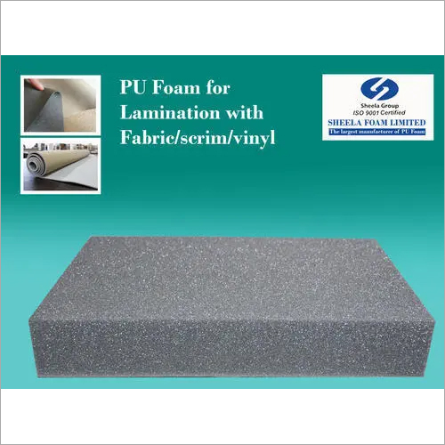Lamination Foam With Leather