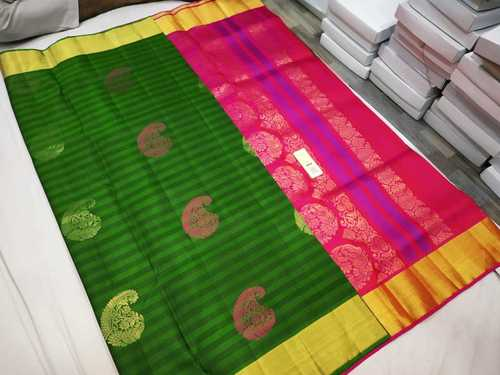 Pure Silk Butta Soft Silk Saree