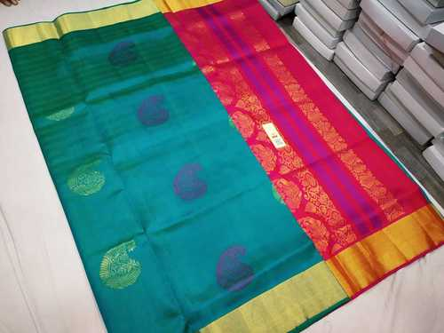 Pure Kanchipuram Butta Saree