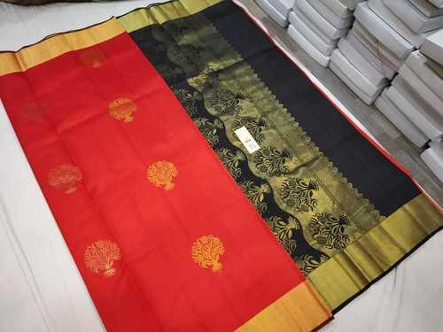 Pure Kanjivaram Soft Silk Saree