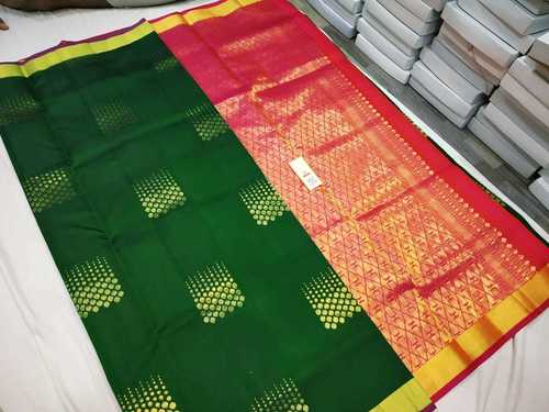 Soft Silk Handloom Butta Saree