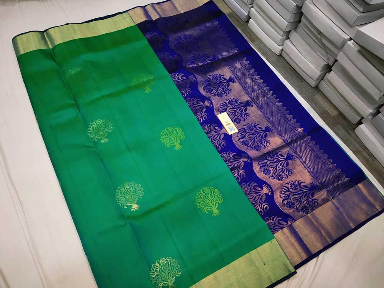 Soft Silk Handloom Butta Saree