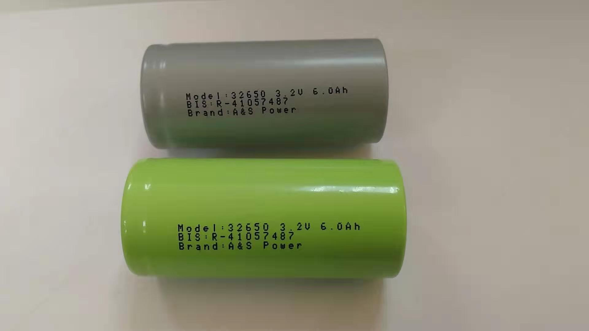 32650 32700 3.2V 6000mAh lifepo4 Battery Cell