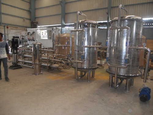 Fully Ss Reverse Osmosis Plant 10000lph