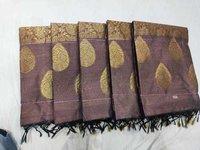 Butta Type Silk Cotton Saree
