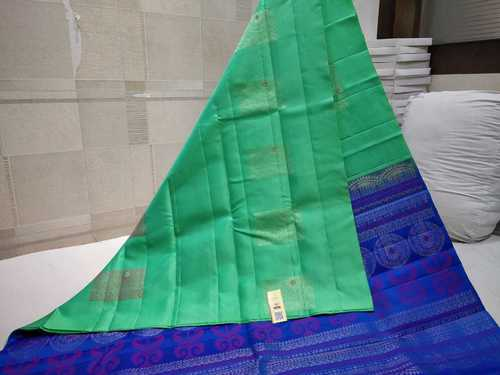 Pure Silk Saree Without Border