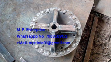 Pin Wheel For ESP Rapping Systems