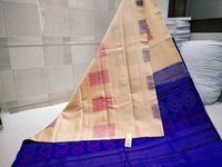 Pure Kanchipuram Soft Silk Saree Without Border