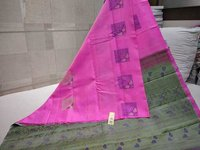 Pure Silk Double Warp Without Border Saree