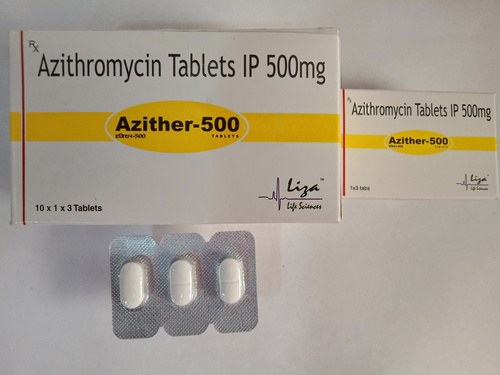 AZITHER-500 Tab.