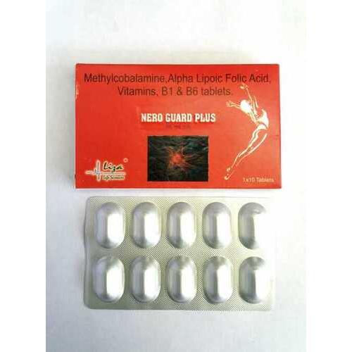 Methylcobalamine Alphe Lipoic Folic Acid Vitamins B1 And B6 Tablets
