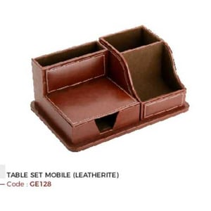 table mobile leather set