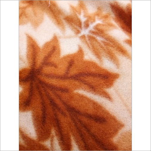 Leaf Print Blankets