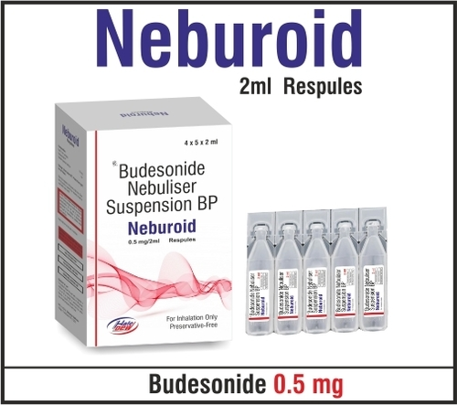 Budesonide 0.5mg/ 2ml