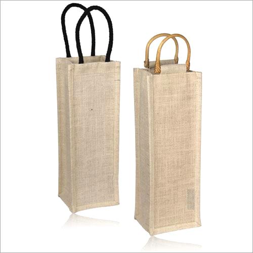 Jute Wine Plain Bags