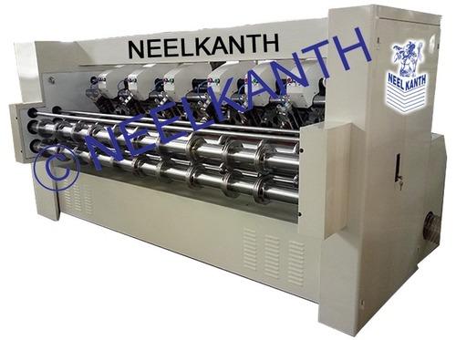 Thin blade rotary cutting creasing machine