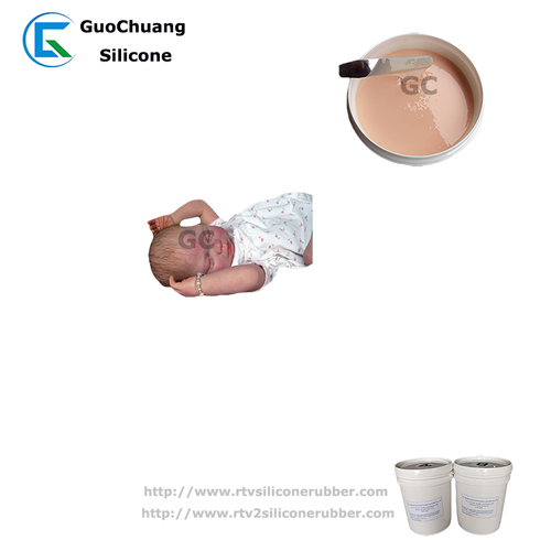 safe soft silicone rubber for baby dolls dolls casting