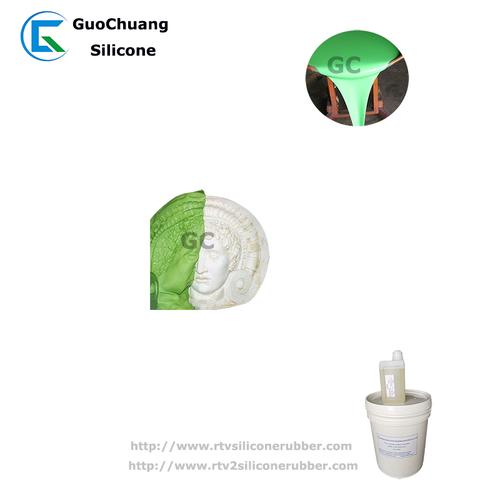 RTV2 tin cure silicone rubber for fiberglass gypsum plaster cornice molds making