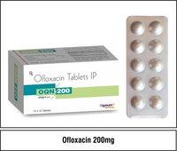 Ofloxacin  200 mg.