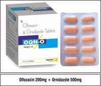 Ofloxacin  200 mg.  + Ornidazole  500 mg.