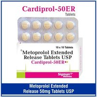 Metoprolol 50 mg (ER)